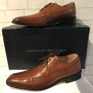 Giorgio Brutini Dress shoes  NEW Tan 9M 249104